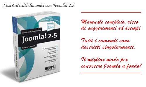 Costruire siti dinamici per Joomla 2.5