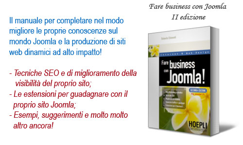 Fare business con Joomla!